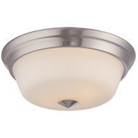 Calvin LED 13 inch Brushed Nickel Flush Mount Ceiling Light