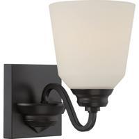Nuvo 62/376 Calvin LED 6 inch Mahogany Bronze Vanity Light Wall Light