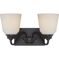 Nuvo 62/377 Calvin LED 16 inch Mahogany Bronze Vanity Light Wall Light