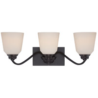 Nuvo 62/378 Calvin LED 24 inch Mahogany Bronze Vanity Light Wall Light