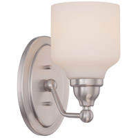 Nuvo Kirk 1 Light Vanity Light in Polished Nickel 62/386