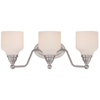 Kirk LED 21 inch Polished Nickel Vanity Light Wall Light
