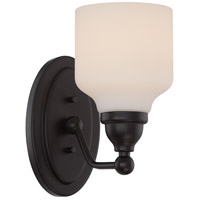 Nuvo Kirk 1 Light Vanity Light in Mahogany Bronze 62/396