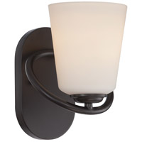 Nuvo Dylan 1 Light Vanity Light in Mahogany Bronze 62/416