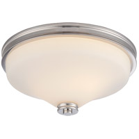 Nuvo 62/423 Cody LED 13 inch Polished Nickel Flush Mount Ceiling Light