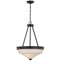 Nuvo 62/435 Cody LED 18 inch Mahogany Bronze Pendant Ceiling Light