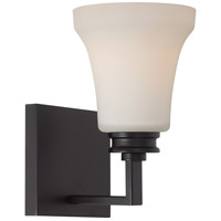 Nuvo Cody 1 Light Vanity Light in Mahogany Bronze 62/436