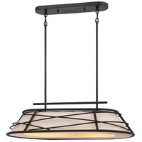 Nuvo Toro 2 Light Pendant in Dark Bronze 62/452