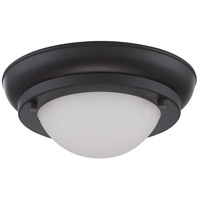 Nuvo Lighting Poke 1 Light Flush Mount in Aged Bronze 62/512