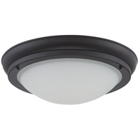 Nuvo Lighting Poke 1 Light Flush Mount in Aged Bronze 62/518