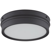 Nuvo Lighting Ben 1 Light Flush Mount in Aged Bronze 62/522