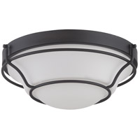 Nuvo Lighting Baker 1 Light Flush Mount in Aged Bronze 62/528