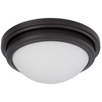 Nuvo Lighting Corry 1 Light Flush Mount in Aged Bronze 62/535