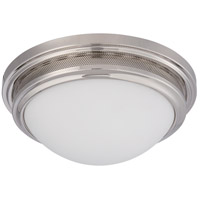 Nuvo Lighting Corry 1 Light Flush Mount in Polished Nickel 62/536
