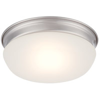 Trevor LED 8 inch Brushed Nickel Flush Mount Ceiling Light