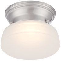 Nuvo 62/612 Bogie LED 6 inch Brushed Nickel Flush Mount Ceiling Light