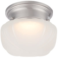 Nuvo 62/613 Bogie LED 6 inch Brushed Nickel Flush Mount Ceiling Light
