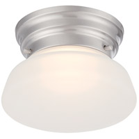 Nuvo 62/614 Bogie LED 6 inch Brushed Nickel Flush Mount Ceiling Light