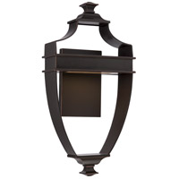 Nuvo 62/621 Cooper LED 18 inch Mahogany Bronze Outdoor Wall Light