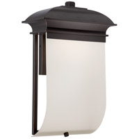 Nuvo Lighting Foster 1 Light Outdoor Wall Light in Mahogany Bronze 62/624