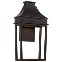 Nuvo Lighting Moore 1 Light Outdoor Wall Light in Mahogany Bronze 62/625