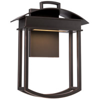 Nuvo Lighting Garner 1 Light Outdoor Wall Light in Mahogany Bronze 62/627