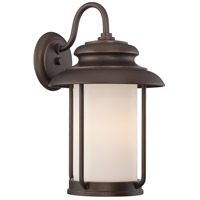 Nuvo Lighting Bethany 1 Light Outdoor Wall Light in Mahogany Bronze 62/632
