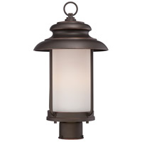 Nuvo Lighting Bethany 1 Light Post Light in Mahogany Bronze 62/634