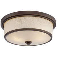 Nuvo Lighting Diego 2 Light Outdoor Flush Mount in Mahogany Bronze 62/643