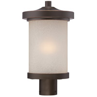 Diego LED 16 inch Mahogany Bronze Post Light