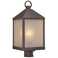 Haven LED 20 inch Mahogany Bronze Post Light
