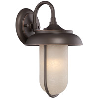 Nuvo Lighting Tulsa 1 Light Outdoor Wall Light in Mahogany Bronze 62/671