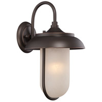 Nuvo Lighting Tulsa 1 Light Outdoor Wall Light in Mahogany Bronze 62/672