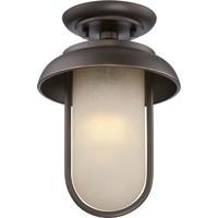 Nuvo 62/673 Tulsa LED 8 inch Mahogany Bronze Flush Mount Ceiling Light