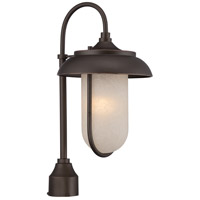 Nuvo Lighting Tulsa 1 Light Post Light in Mahogany Bronze 62/674