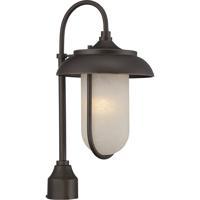 Nuvo 62/674 Tulsa LED 21 inch Mahogany Bronze Post Light