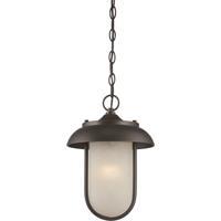 Nuvo 62/675 Tulsa LED 10 inch Mahogany Bronze Outdoor Hanging Light