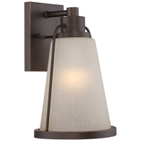 Nuvo Lighting Tolland 1 Light Outdoor Wall Light in Mahogany Bronze 62/681