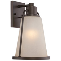 Nuvo Lighting Tolland 1 Light Outdoor Wall Light in Mahogany Bronze 62/682