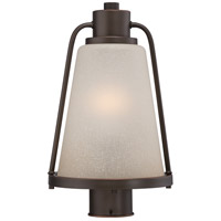 Tolland LED 15 inch Mahogany Bronze Post Light