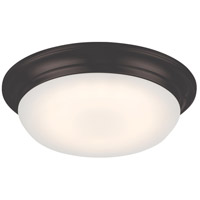 Nuvo 62/702 Libby LED 11 inch Aged Bronze Flush Mount Ceiling Light
