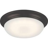 Nuvo 62/702 Libby LED 11 inch Mahogany Bronze Flush Mount Ceiling Light