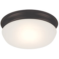 Trevor LED 8 inch Aged Bronze Flush Mount Ceiling Light