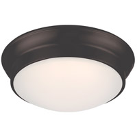 Nuvo 62/705 Conrad LED 12 inch Aged Bronze Flush Mount Ceiling Light