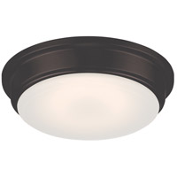 Nuvo 62/711 Haley LED 13 inch Aged Bronze Flush Mount Ceiling Light