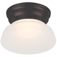 Nuvo 62/714 Bogie LED 6 inch Aged Bronze Flush Mount Ceiling Light