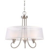 Tess LED 24 inch Brushed Nickel Pendant Ceiling Light