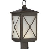 Nuvo 62/815 Roxton LED 20 inch Umber Bay Post Lantern