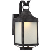 Winthrop LED 15 inch Iron Black Outdoor Wall Light