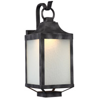 Winthrop LED 20 inch Iron Black Outdoor Wall Light